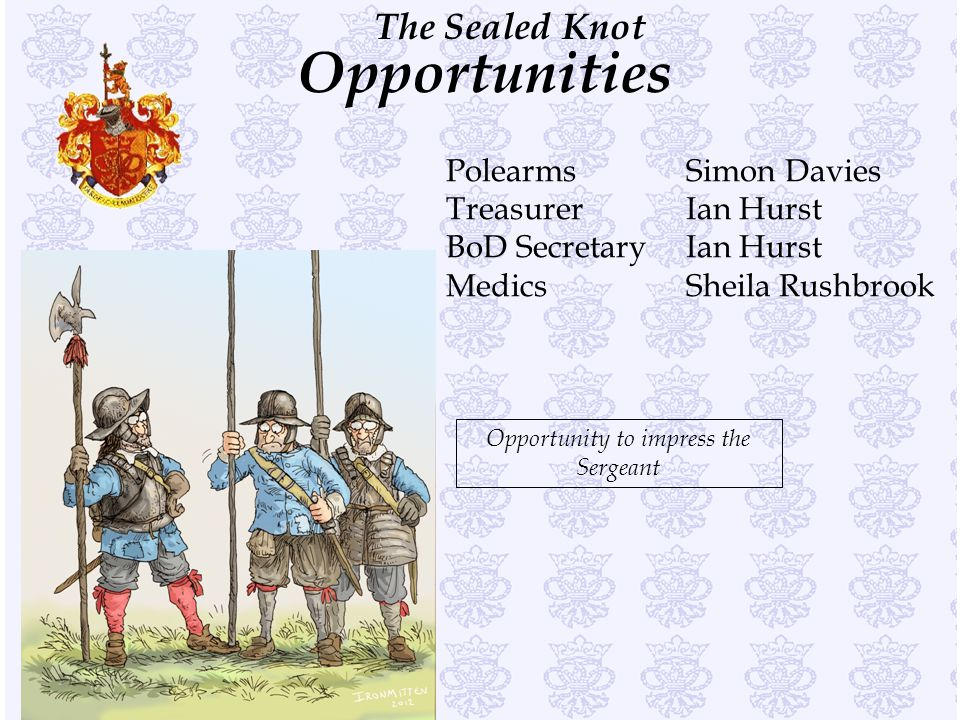 Opportunity to impress the Sergeant