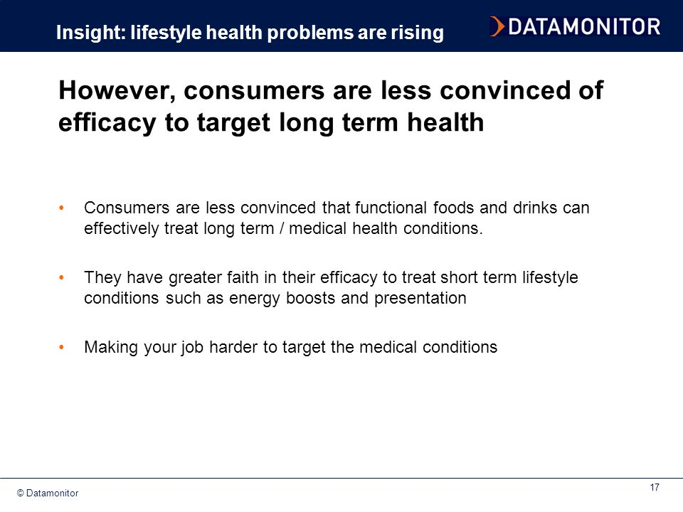 Insight: lifestyle health problems are rising