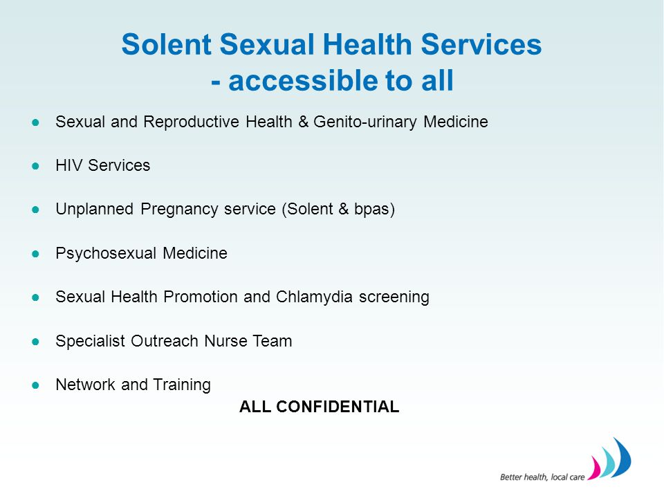 Solent Sexual Health Services - accessible to all