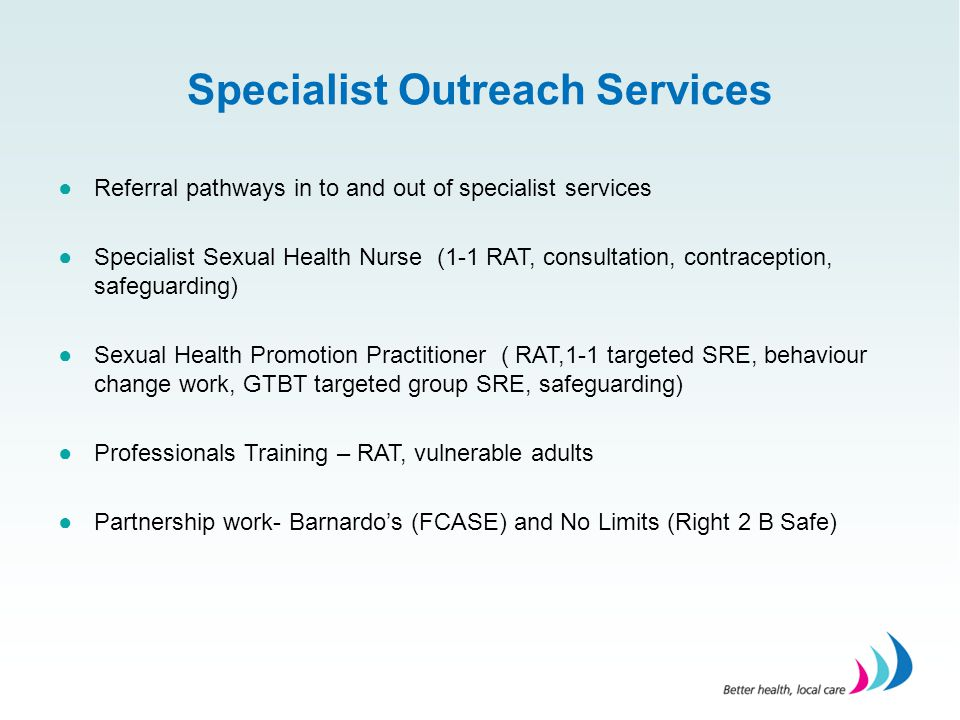 Specialist Outreach Services