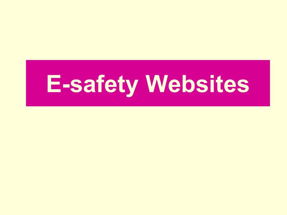 E-safety Websites