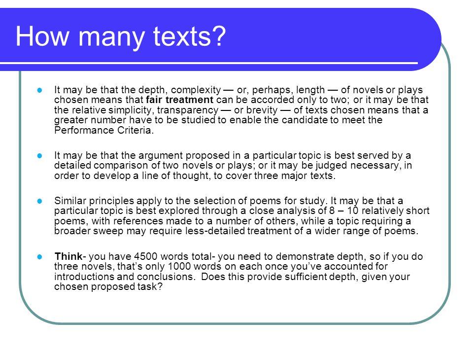 How many texts