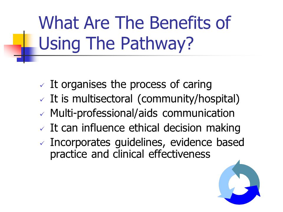 What Are The Benefits of Using The Pathway