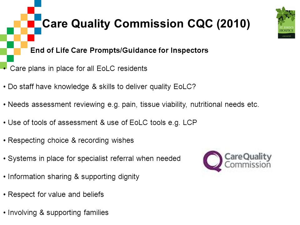 Care Quality Commission CQC (2010)