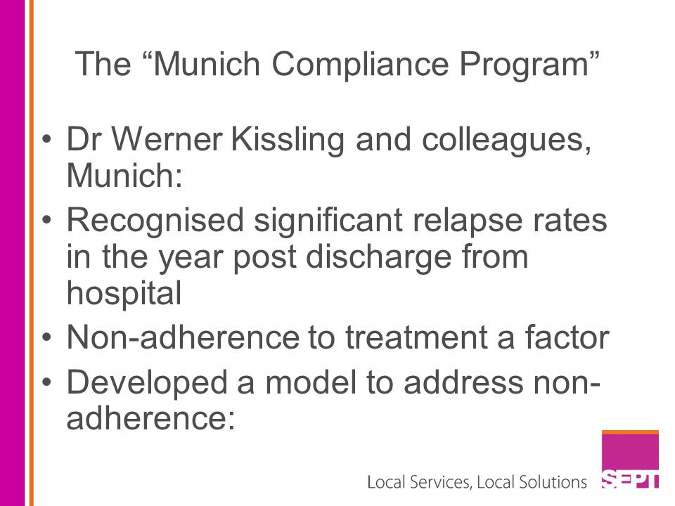 The Munich Compliance Program