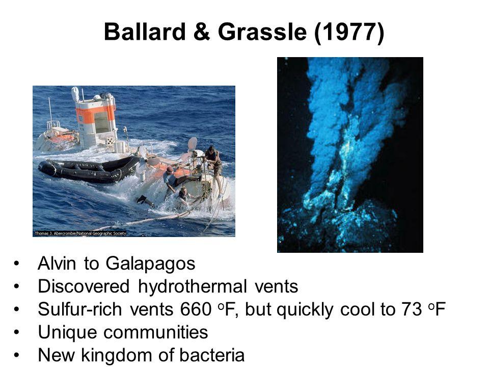 Ballard & Grassle (1977) Alvin to Galapagos