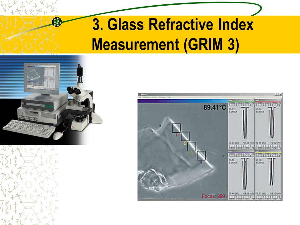 3. Glass Refractive Index Measurement (GRIM 3)