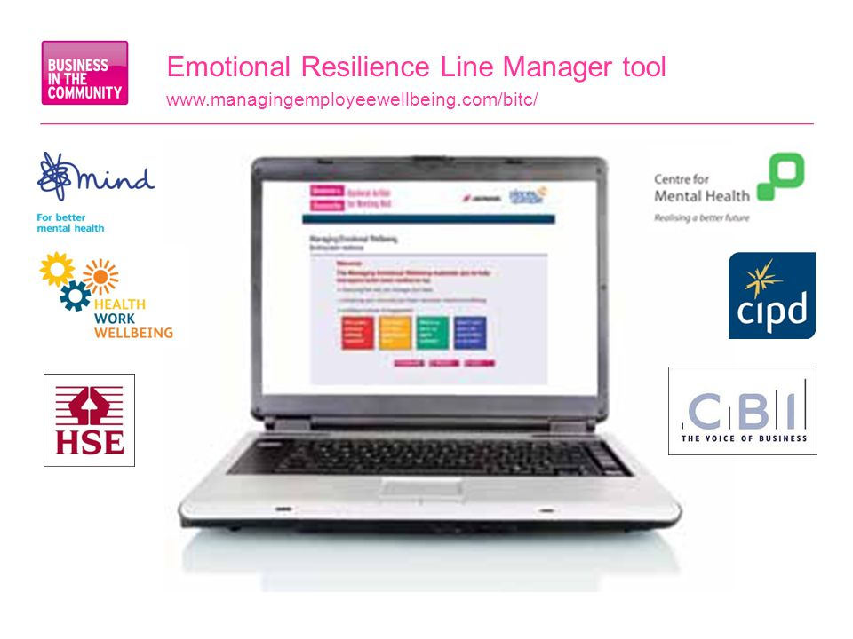 Emotional Resilience Line Manager tool