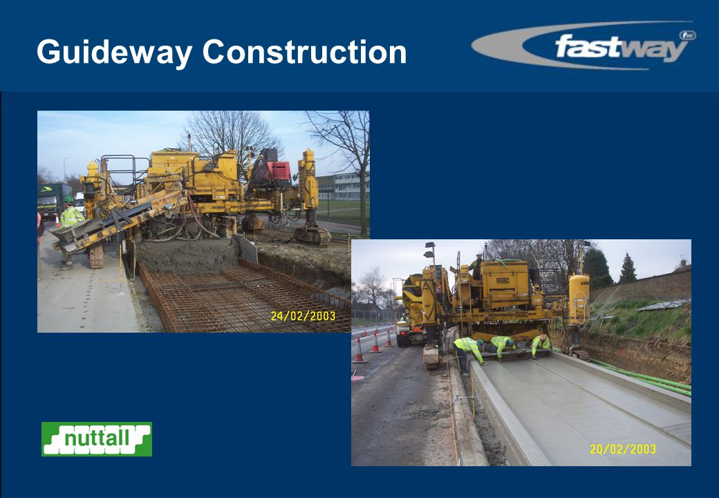 Guideway Construction