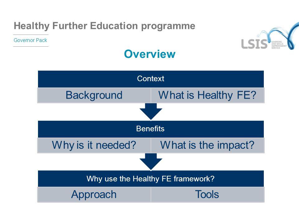 Why use the Healthy FE framework