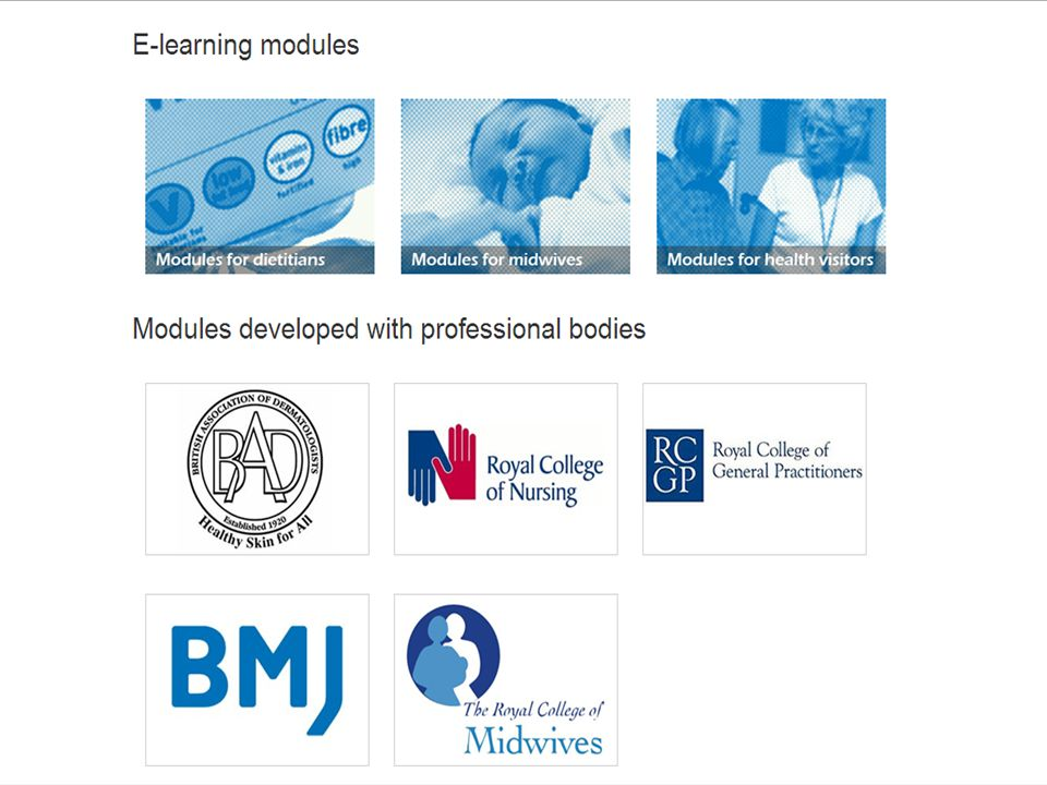 Follow the front page link to the e-learning section BMJ Learning