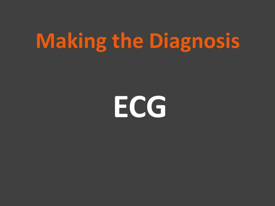 Making the Diagnosis ECG