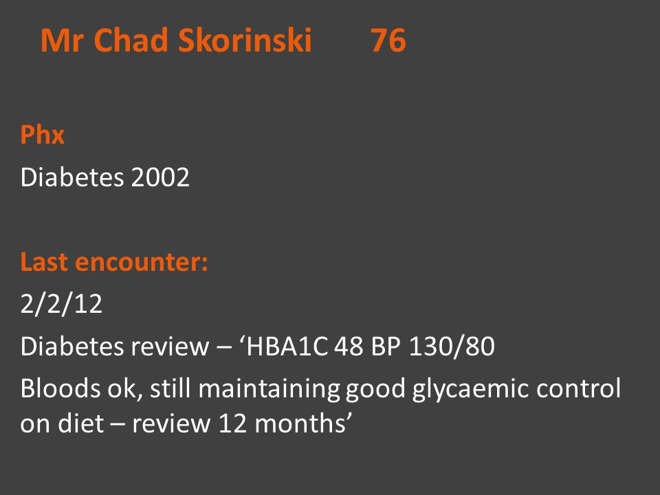 Mr Chad Skorinski 76
