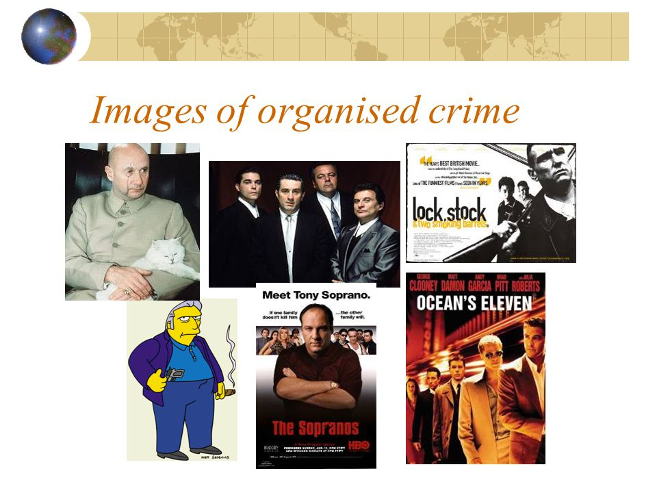 Images of organised crime