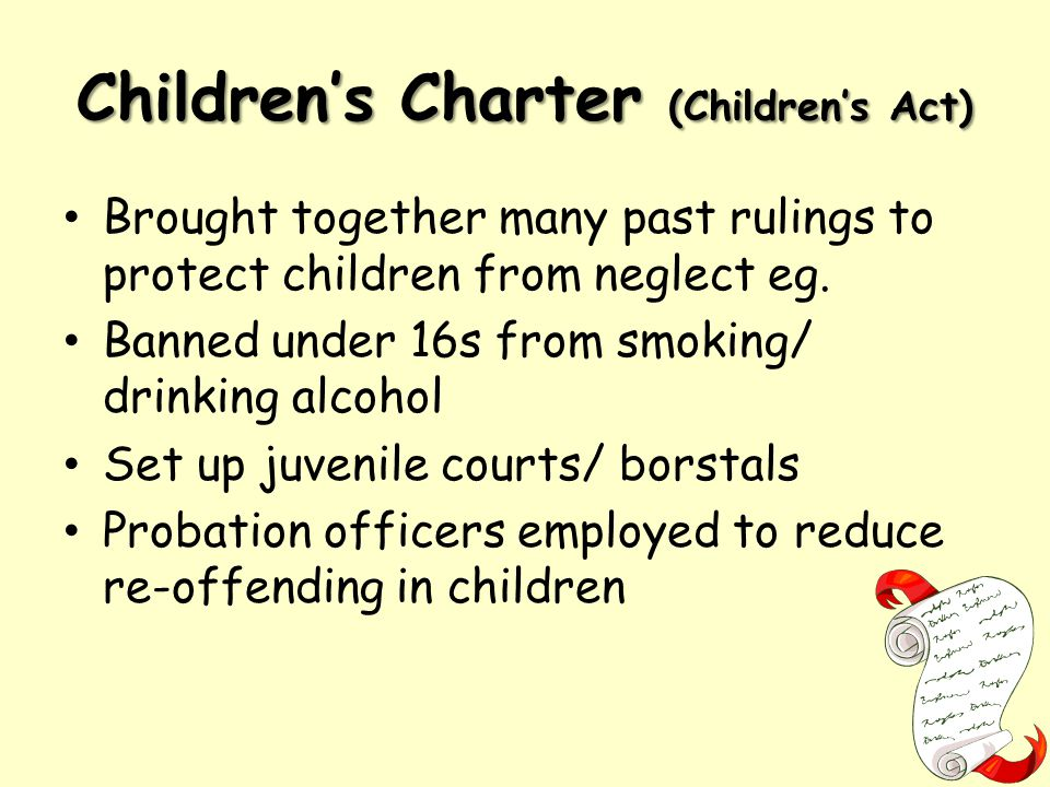 Children's Charter (Children's Act)