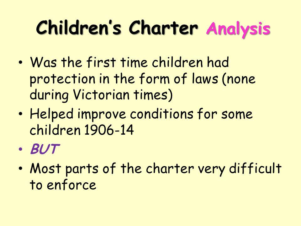 Children's Charter Analysis