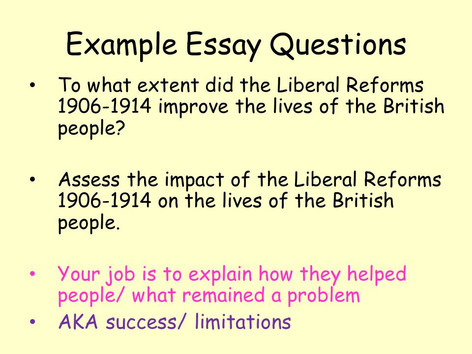 review of the liberal reforms 1906 to 1914 history essay Essay writing guide why did the liberals introduce social reform 1906-14 to what extent could the liberal reforms of 1906-1914 be described as a radical.