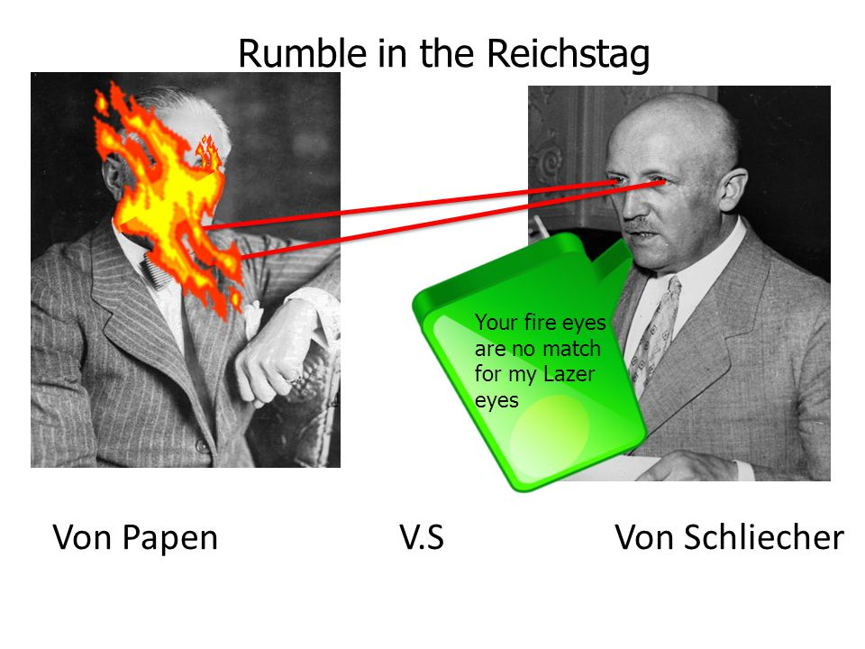 Rumble in the Reichstag