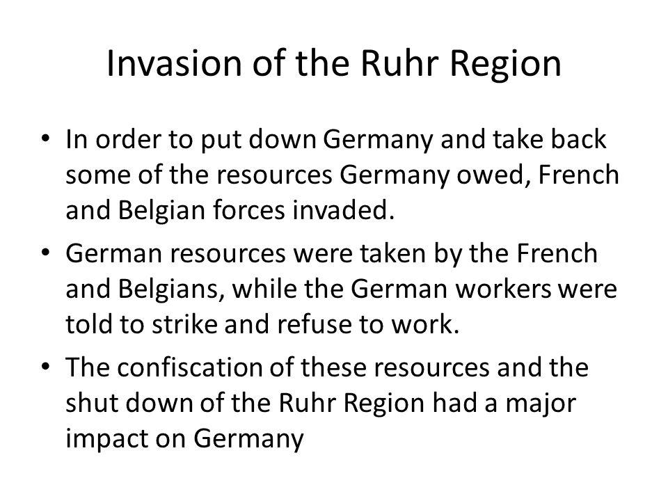 Invasion of the Ruhr Region