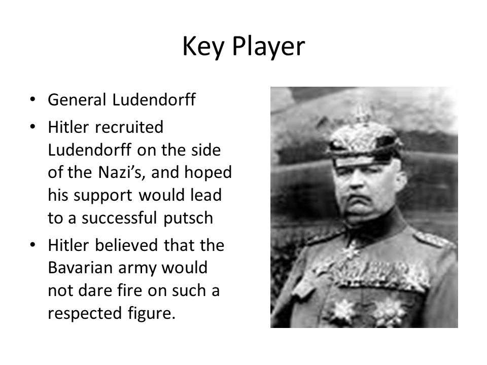 Key Player General Ludendorff