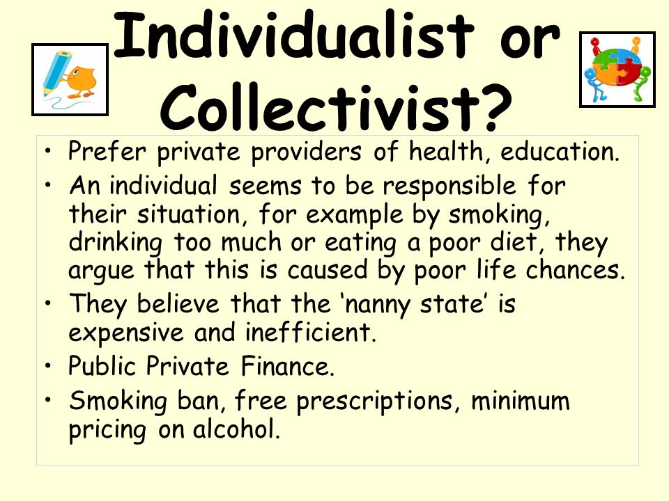 Individualist or Collectivist