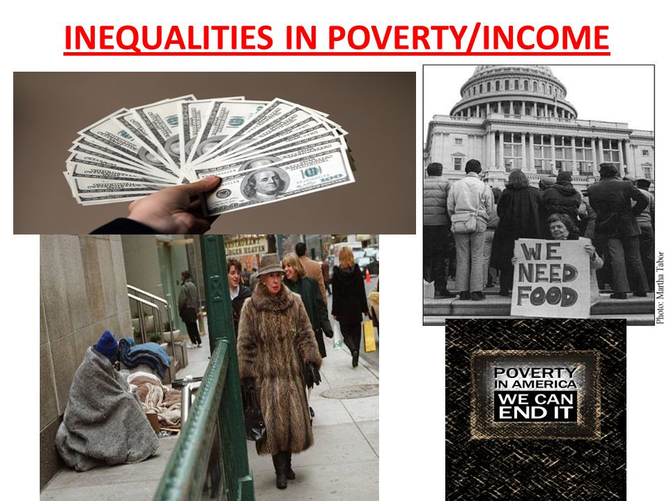 INEQUALITIES IN POVERTY/INCOME