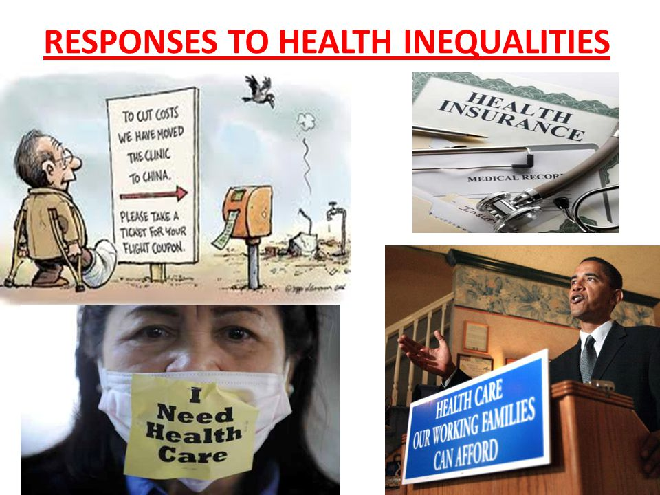 RESPONSES TO HEALTH INEQUALITIES