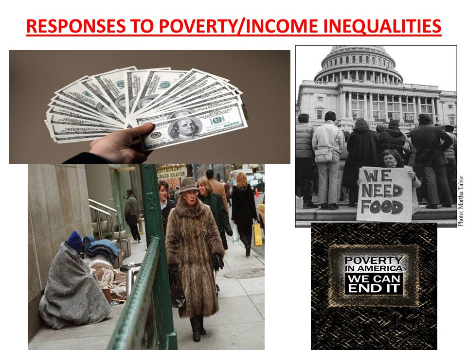 RESPONSES TO POVERTY/INCOME INEQUALITIES