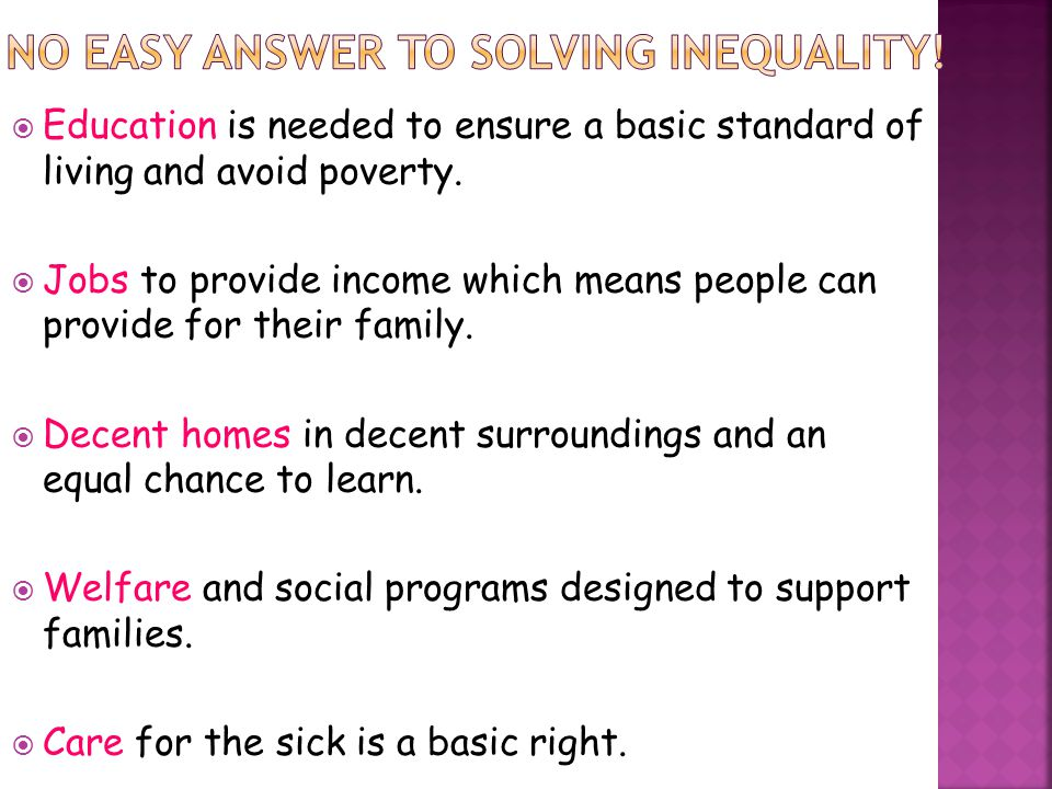 no easy answer to SOLVING INEQUALITY!
