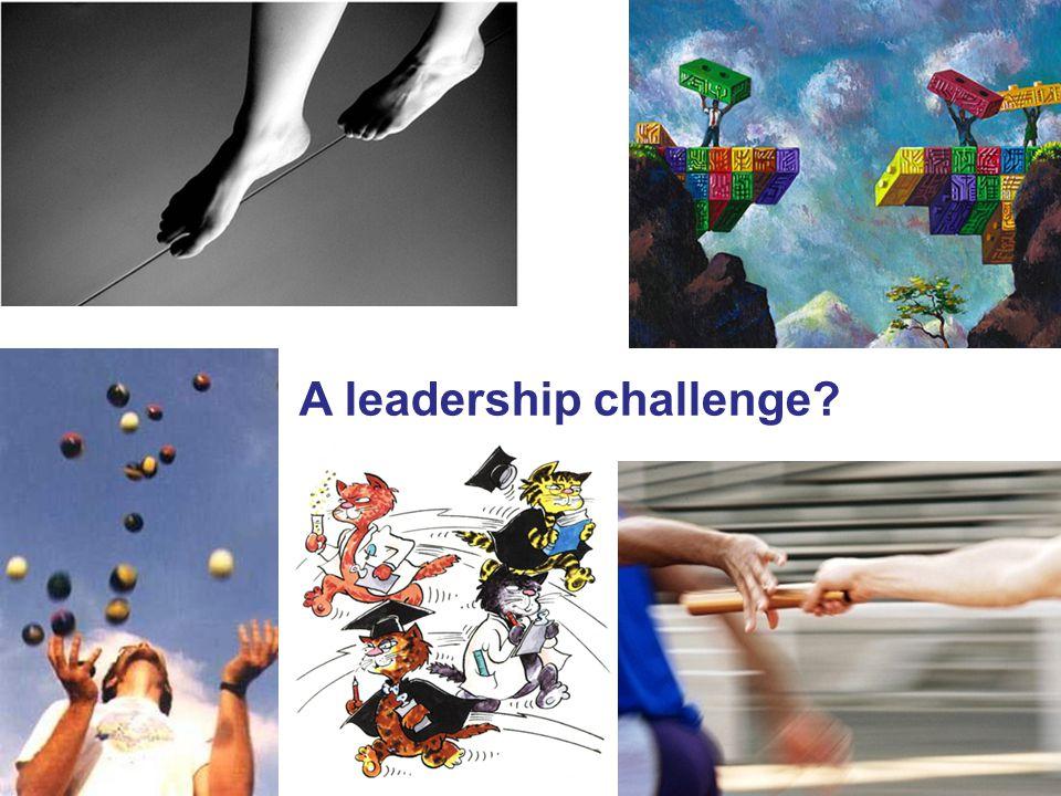 A leadership challenge