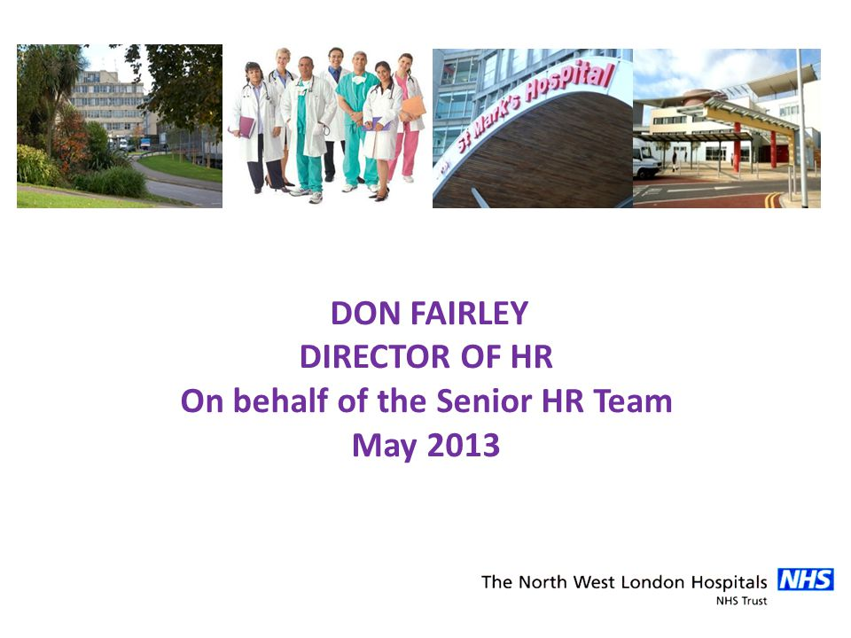 On behalf of the Senior HR Team
