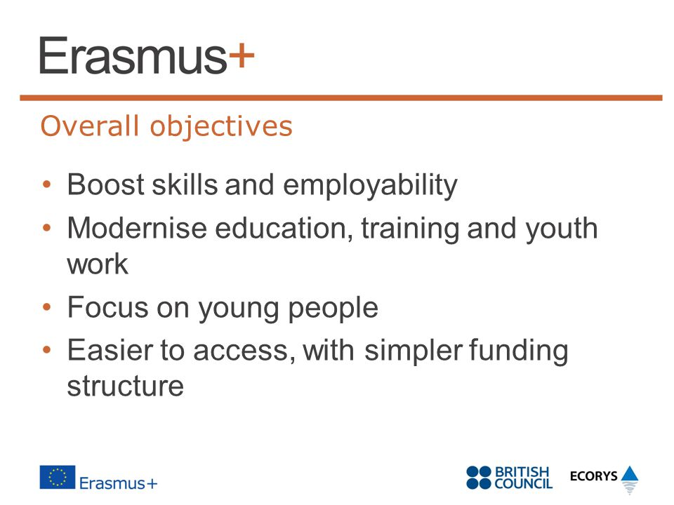 Boost skills and employability