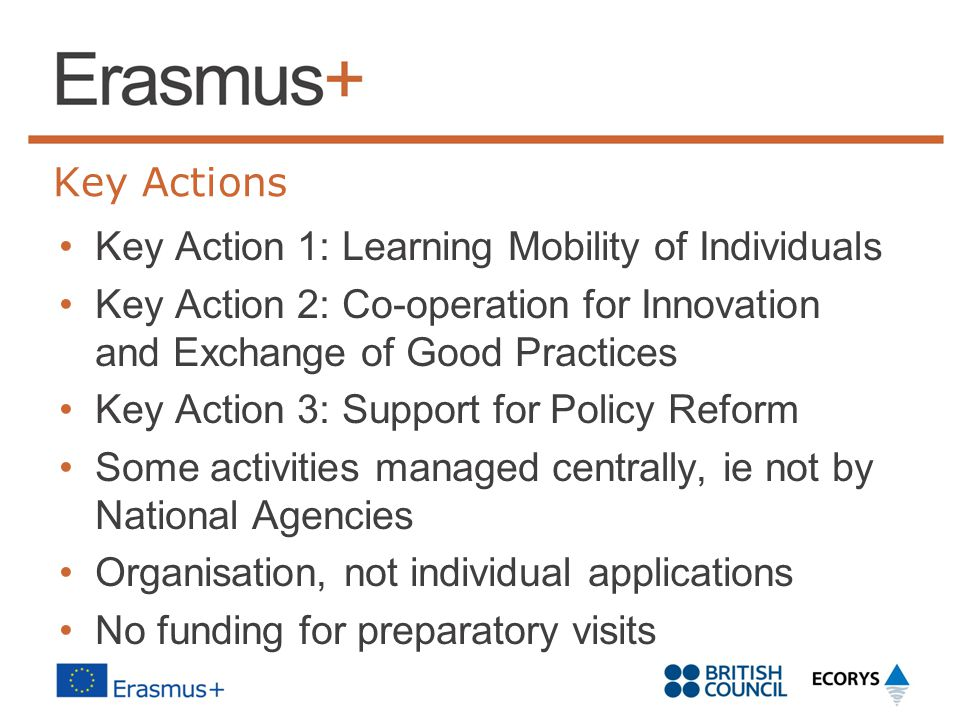 Key Action 1: Learning Mobility of Individuals