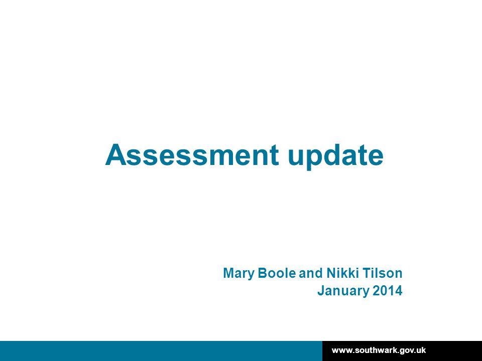 Mary Boole and Nikki Tilson January 2014