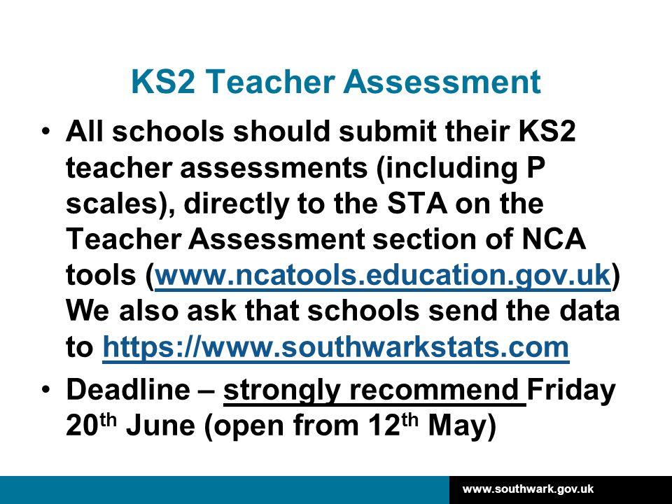 KS2 Teacher Assessment