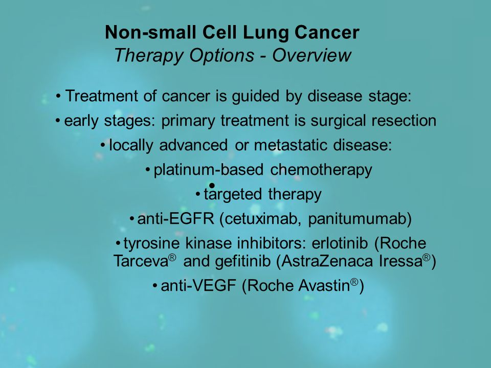 Non-small Cell Lung Cancer Therapy Options - Overview