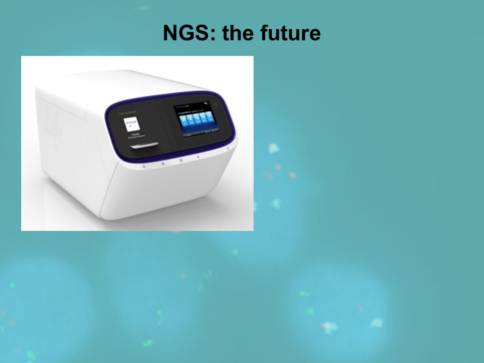 NGS: the future