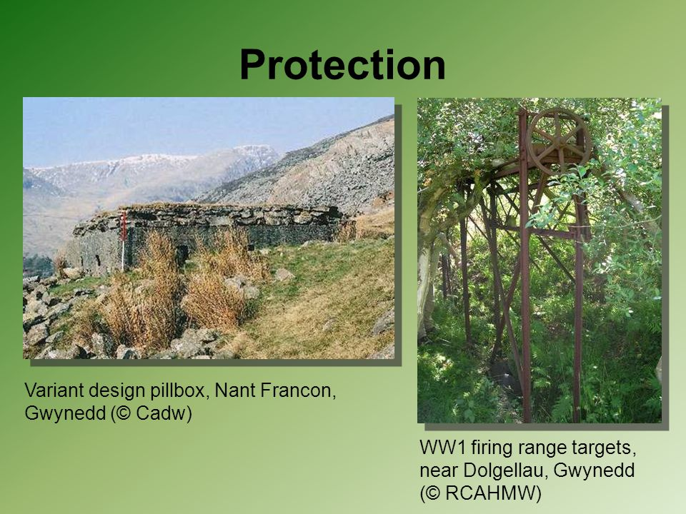Protection Variant design pillbox, Nant Francon, Gwynedd (© Cadw)