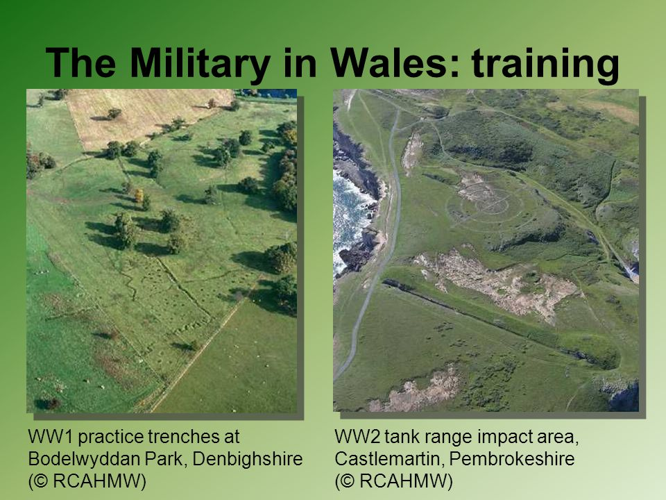 The Military in Wales: training