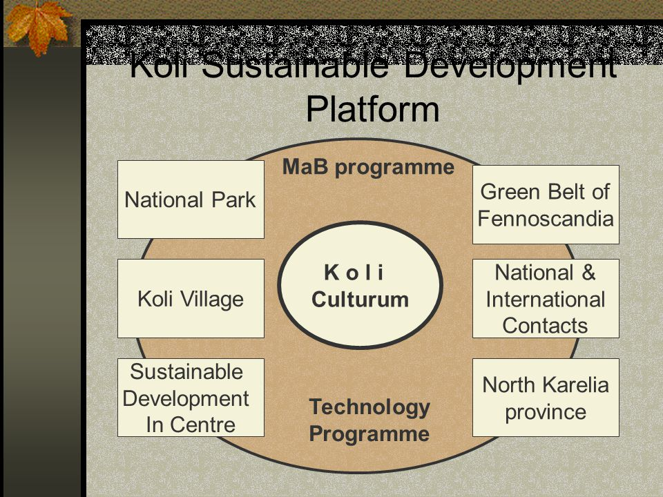 Koli Sustainable Development Platform