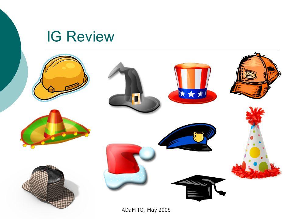 IG Review ADaM IG, May 2008
