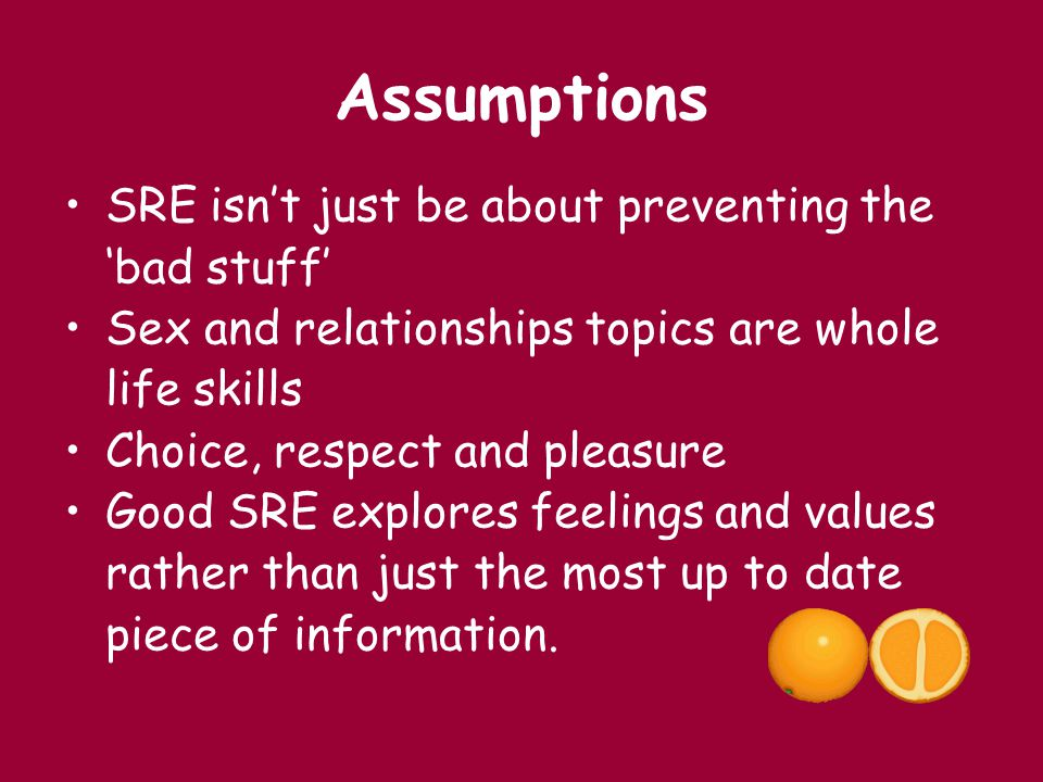 Assumptions SRE isn't just be about preventing the 'bad stuff'