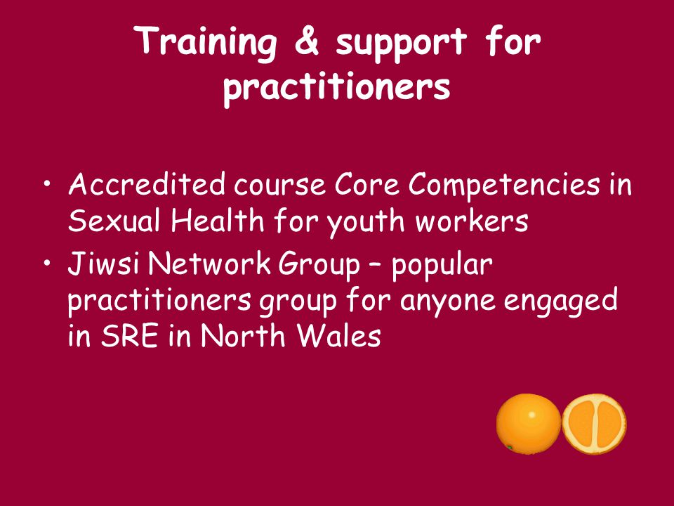Training & support for practitioners