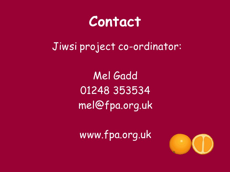 Jiwsi project co-ordinator: