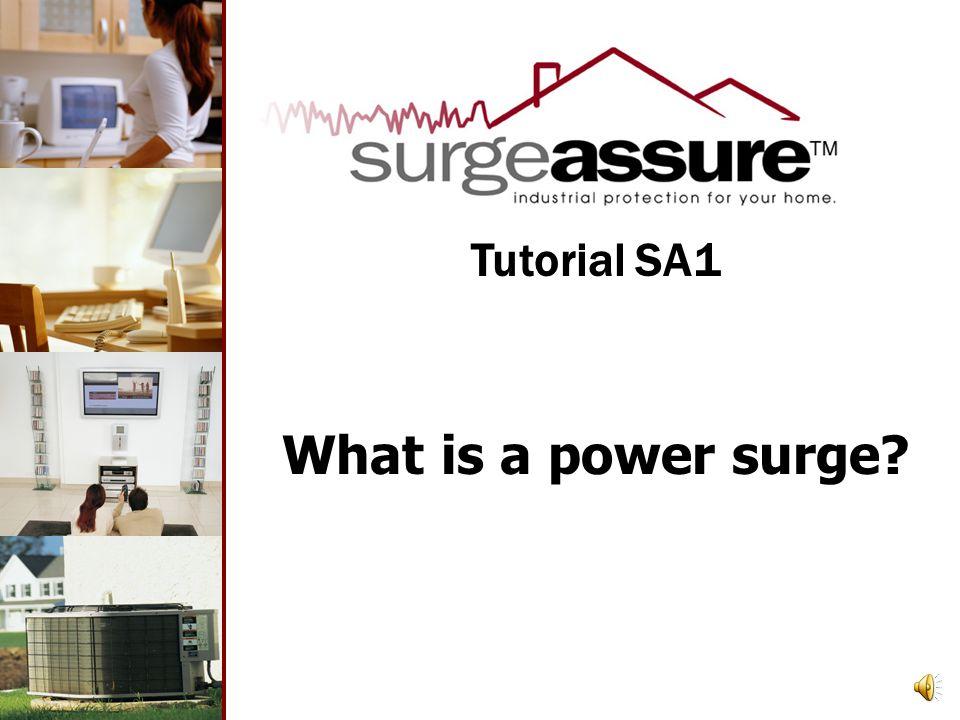 What is a power surge Tutorial SA1
