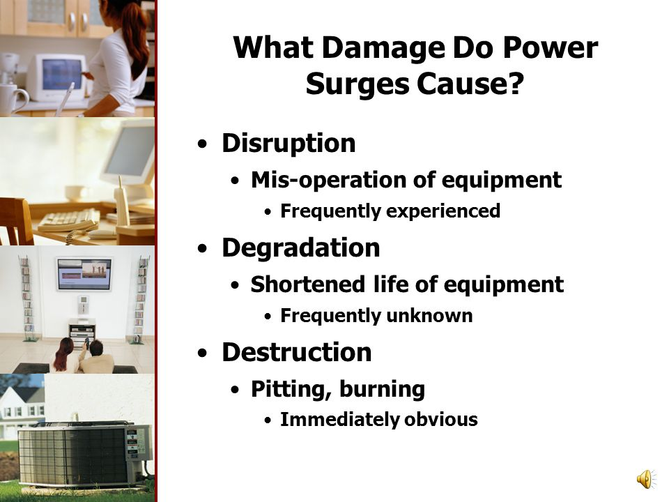 What Damage Do Power Surges Cause