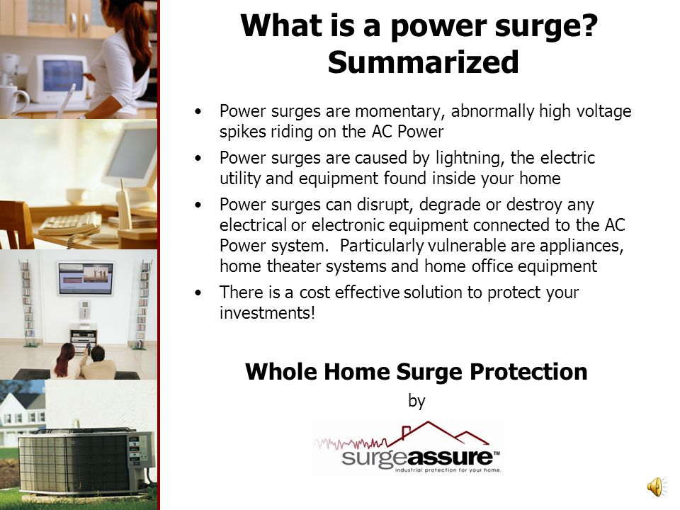 What is a power surge Summarized