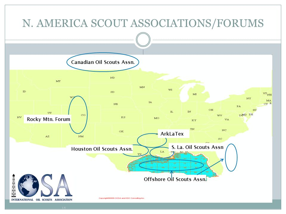 N. AMERICA SCOUT ASSOCIATIONS/FORUMS