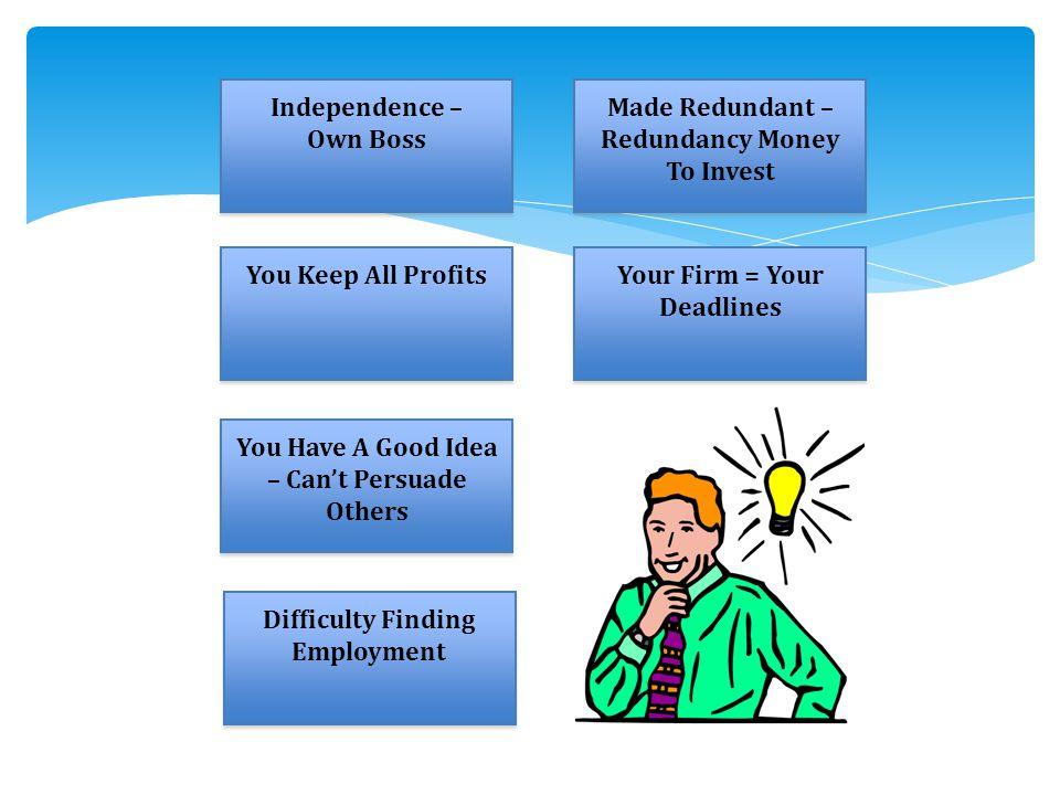 Made Redundant – Redundancy Money To Invest