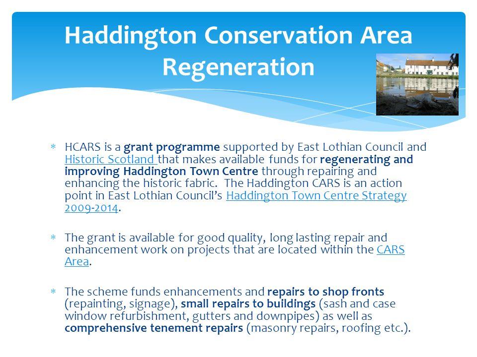 Haddington Conservation Area Regeneration
